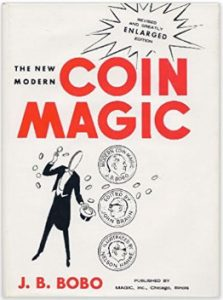 Picture of New Modern Coin Magic book